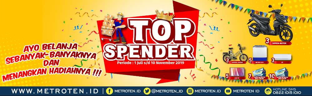 Image - TOP SPENDER METROTEN 2019 -