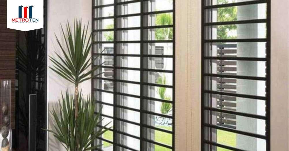 Image Manfaat penggunaan teralis jendela dirumah Anda!