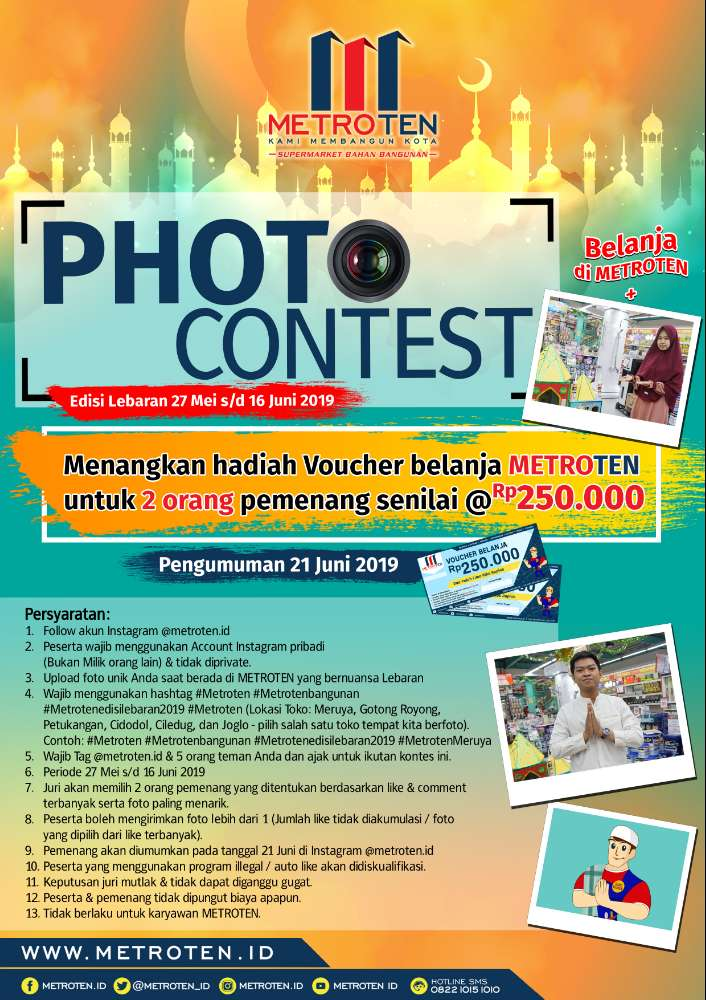 Image METROTEN PHOTO CONTEST Edisi Lebaran 2019