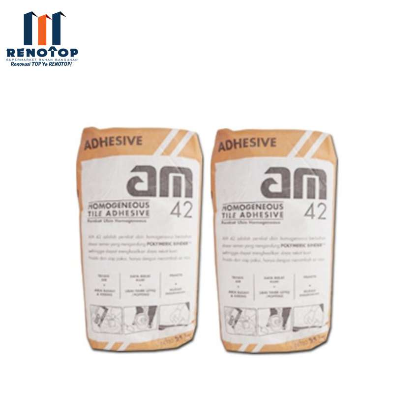 Image AM 42 GREY TILE ADHESIVE 25KG