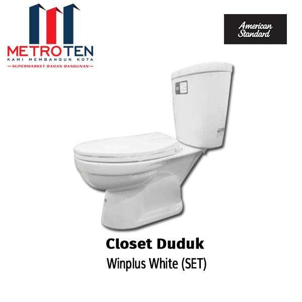 AMSTAD CLOSET DUDUK (SET) WINPLUS WHITE PCS photo
