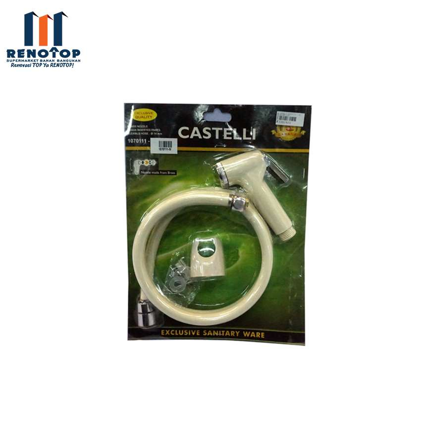 Image Castelli 1070111-IV Jet Shower Ivory