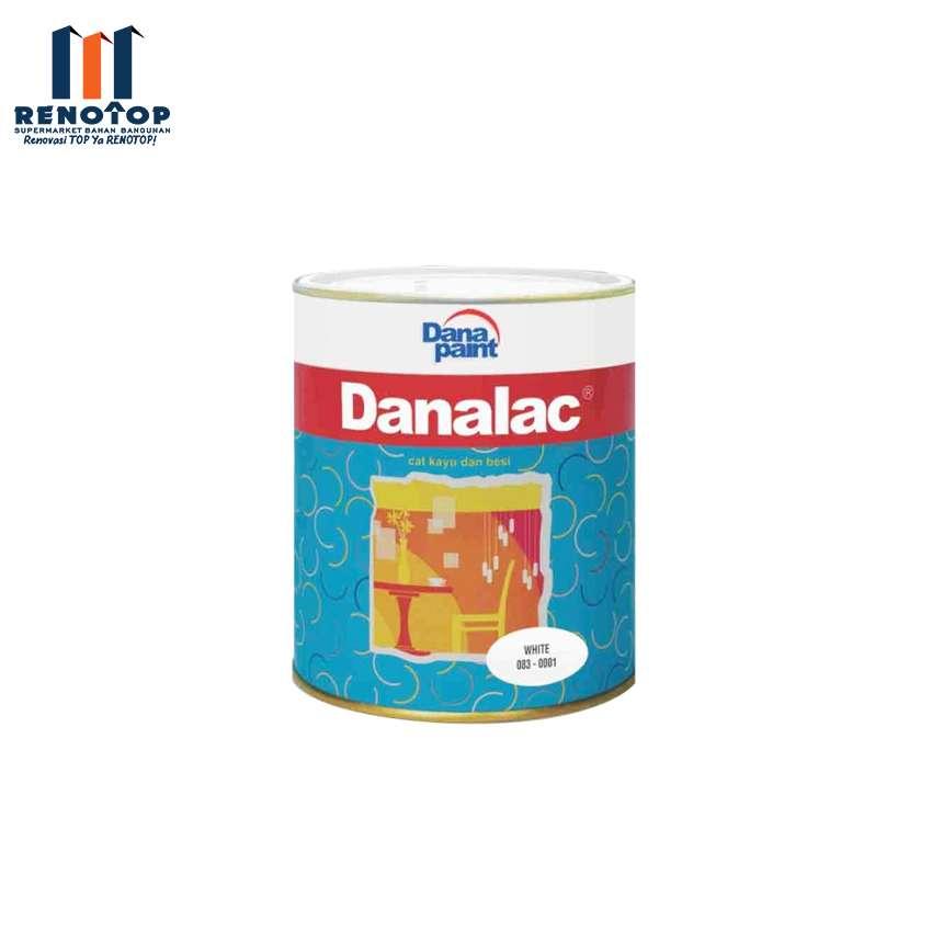 Image DANAPAINT DANALAC  083-2290 BRILLIANT WHITE 0.9LT