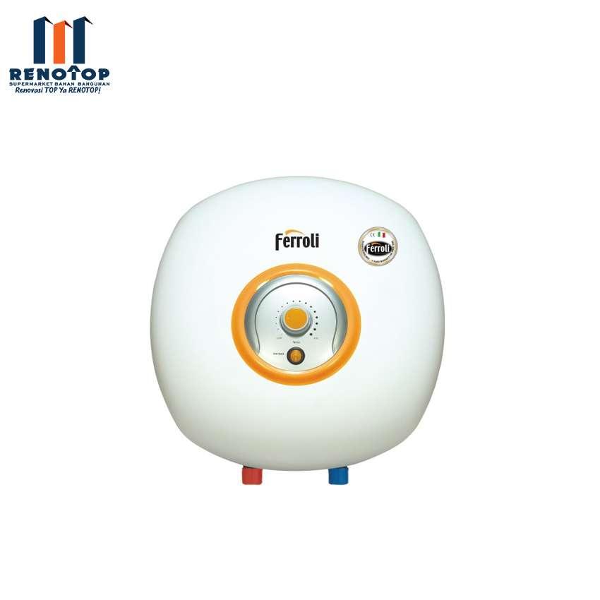 Image FERROLI Water Heater Listrik Ferroli Bravo 15L Pemanas Air Listrik
