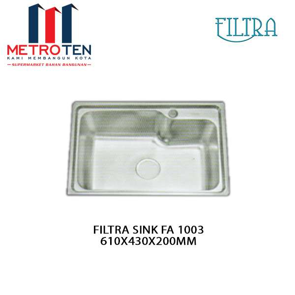 Image FILTRA SINK FA 1003 610X430X200MM