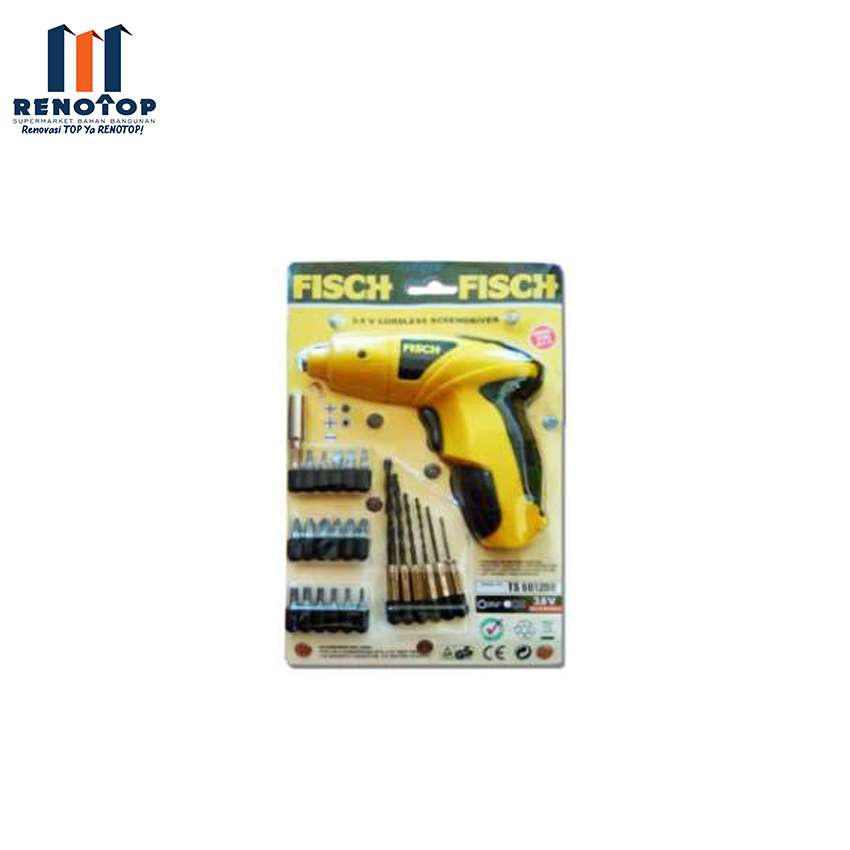 Image FISCH TS 601200 CORDLESS SCREW KIT