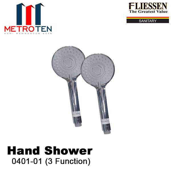 Image FLIESSEN HAND SHOWER 0401-01 (3 FUNCTION)