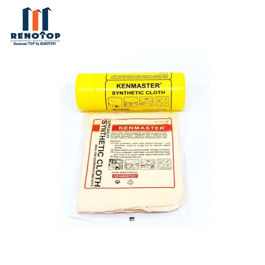 Image KENMASTER Plas Chamois Yellow Box Lap Serbaguna Kain Lap Kanebo