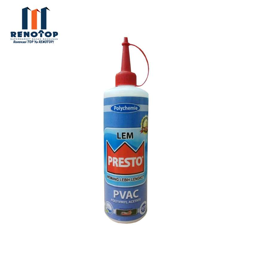Image Lem PRESTO PVAC Botol 600 Gram