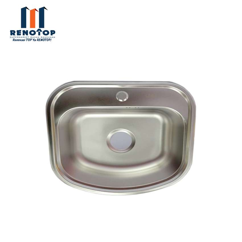 Image LINEA Bak Cuci Piring - Kitchen Sink Avila 1B ukuran 47cmx49cm