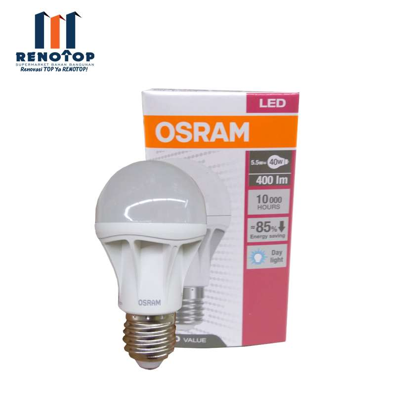Image OSRAM LED Star Classic A40 5.5 W - 865 WH