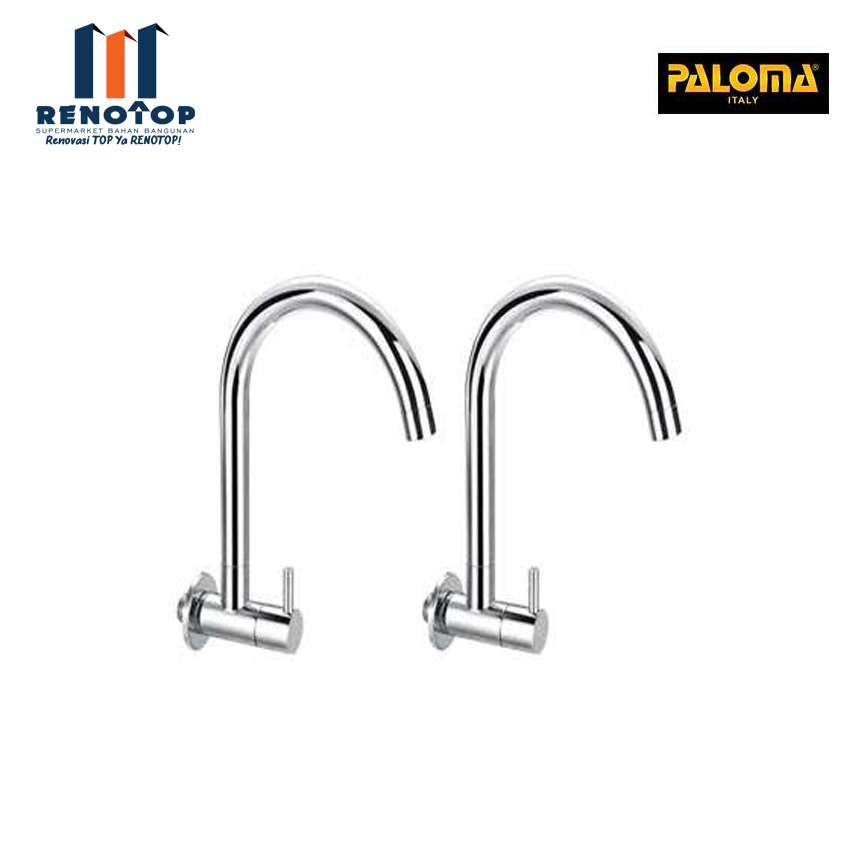 """Image PALOMA FCP 1862 EOLICA 1/2"""" WALL SINK TAP"""