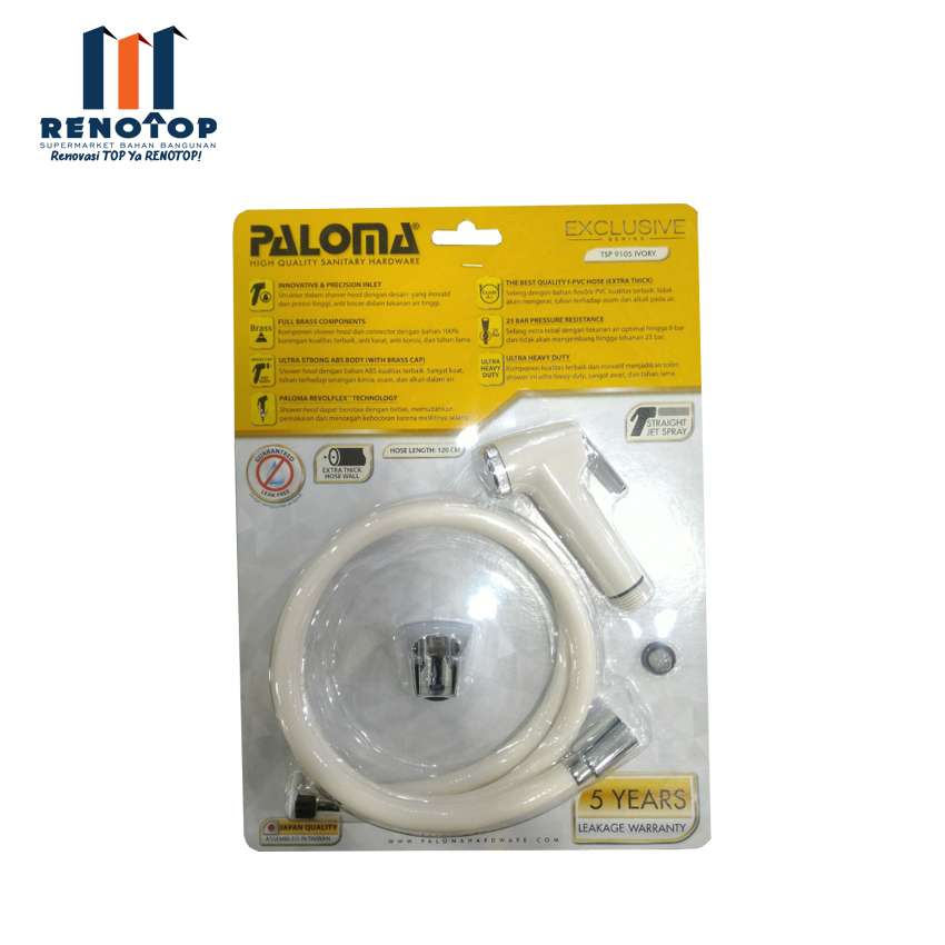 Image PALOMA TSP 9105 Toilet Shower Set Exclusive