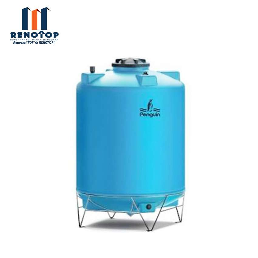 Image Penguin Water Tank TD 110 Biru Muda 1000L