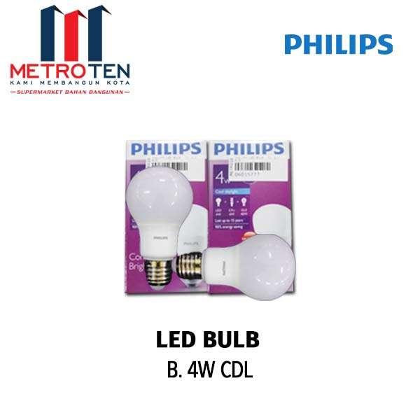 PHILIPS LED BULB  CDL 4 W PCS photo