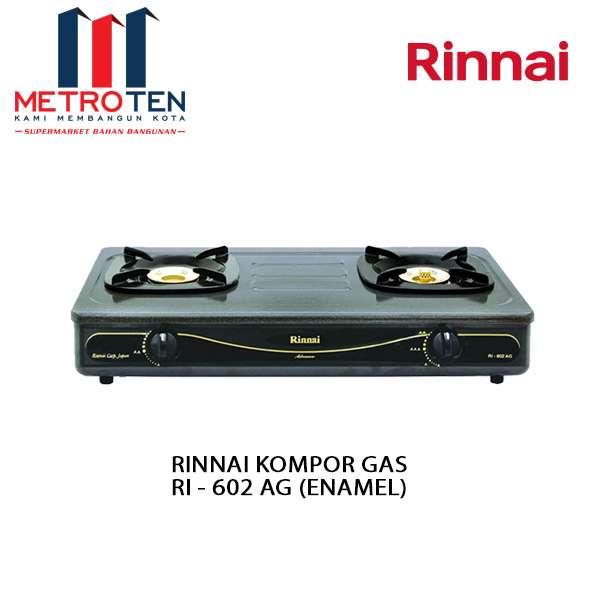 Image RINNAI KOMPOR GAS RI - 602 AG (ENAMEL)