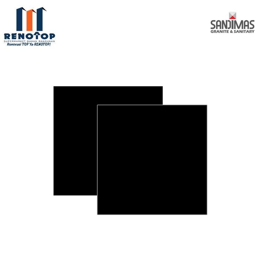 Image SANDIMAS GRANITE RAVEN BLACK  DL 60X60 CM