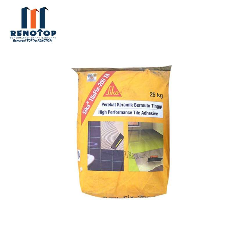 Image SIKA TILE FIX 200 TA 25KG GREY