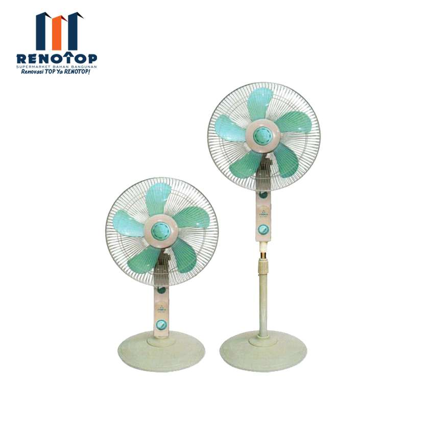 "Image STARCO STAND FAN 2 IN 1 16"" NEW SCS-1602"