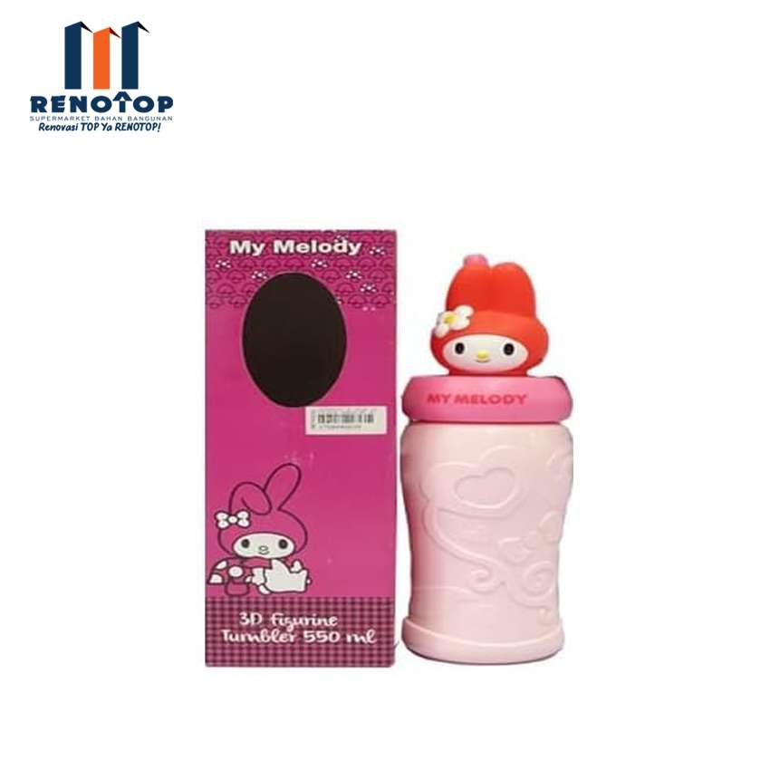 Image TechnoPlast My Melody 3D 30 Figurine Tumbler 550 ML GKH350 MYML