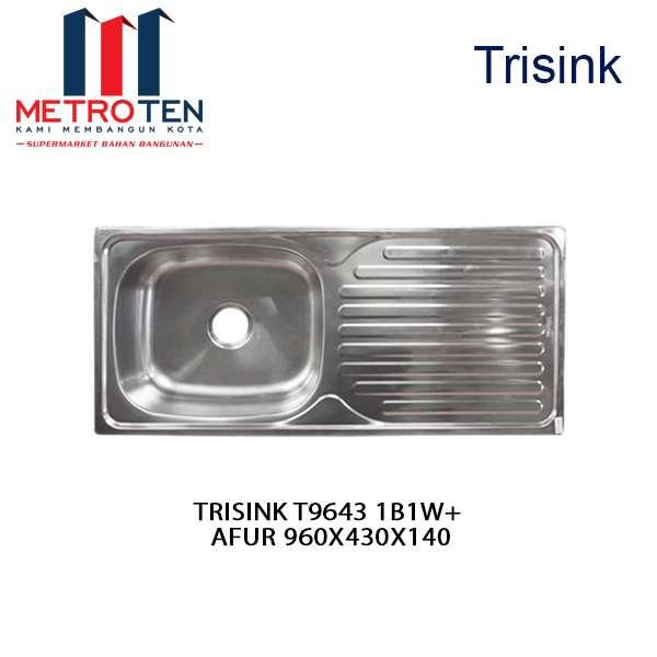 Image TRISINK T9643 1B1W+ AFUR 960X430X140