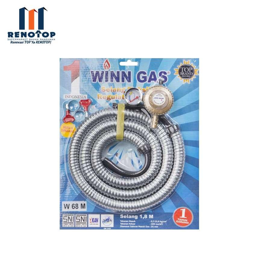Image WINN GAS PAKET REG SELANG FLEXIBLE W68M